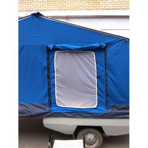 Москитная дверь на палатку прицепа Скиф - М серии